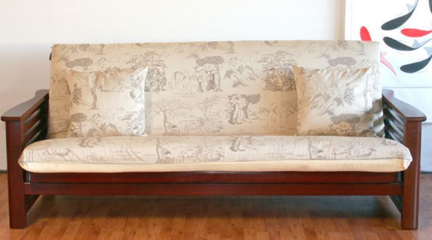 s canapé en bois massif