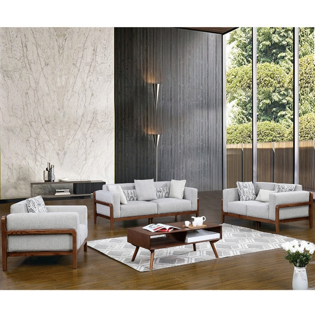 1801B61 Europe style coupe tissu doux confortable salon