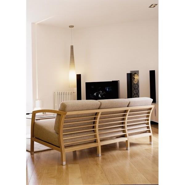 canapé bois tissu 20 – Idées de Décoration intérieure