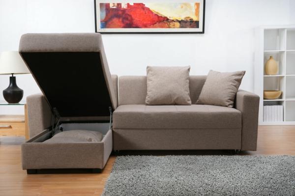 Le design du canapé convertible pratique et confortable