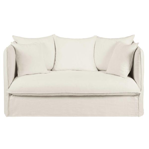 Canapé convertible blanc