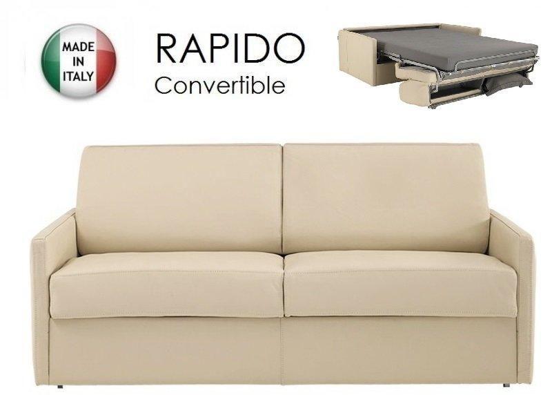 Canape lit 2 3 places sun convertible ouverture rapido