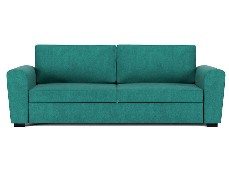 Canapé convertible 3 places en tissu FARO coloris