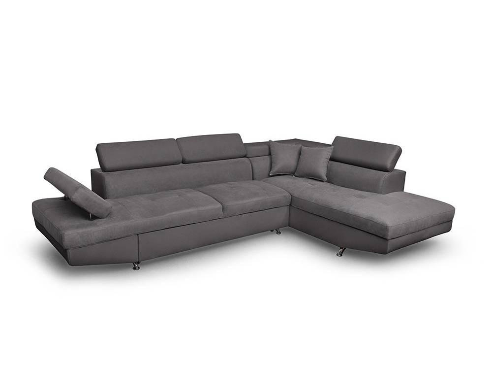 Canapé d Angle Droit RIO Convertible avec coffre en