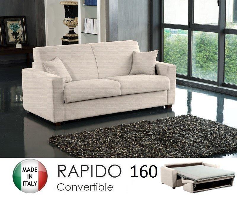 Canape lit 3 4 places dreamer convertible ouverture rapido