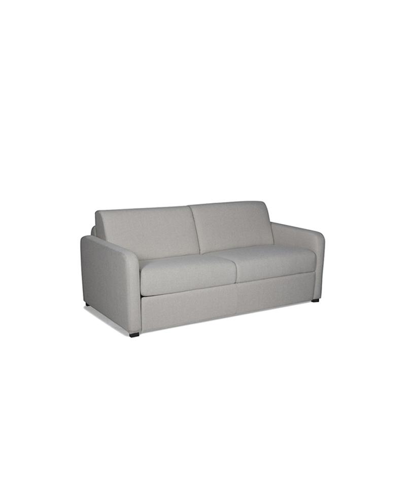 Canapé convertible rapido DORY en tissu couchage quoti n