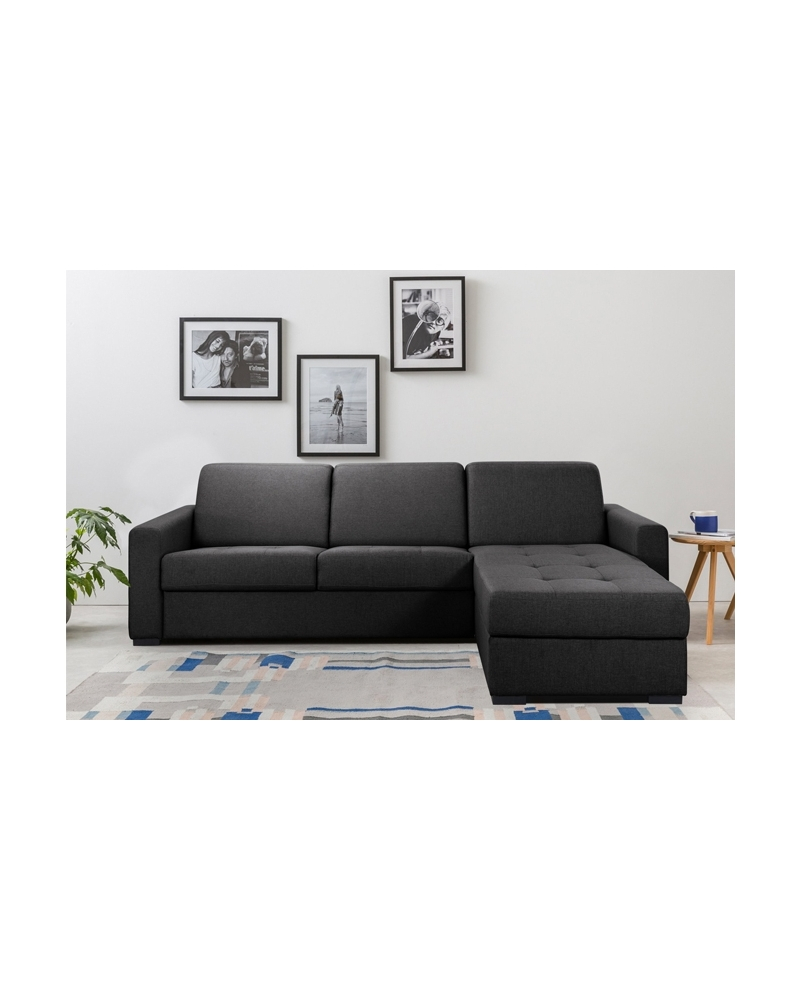 Canapé d angle lit convertible couchage quoti n STARTER
