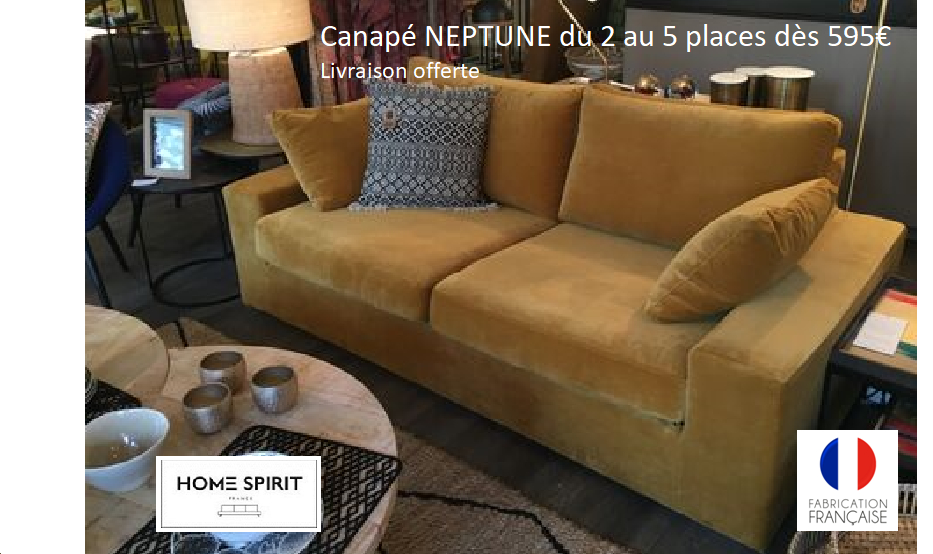 Canapés Home Spirit sur Déstockage canapé fixe ou