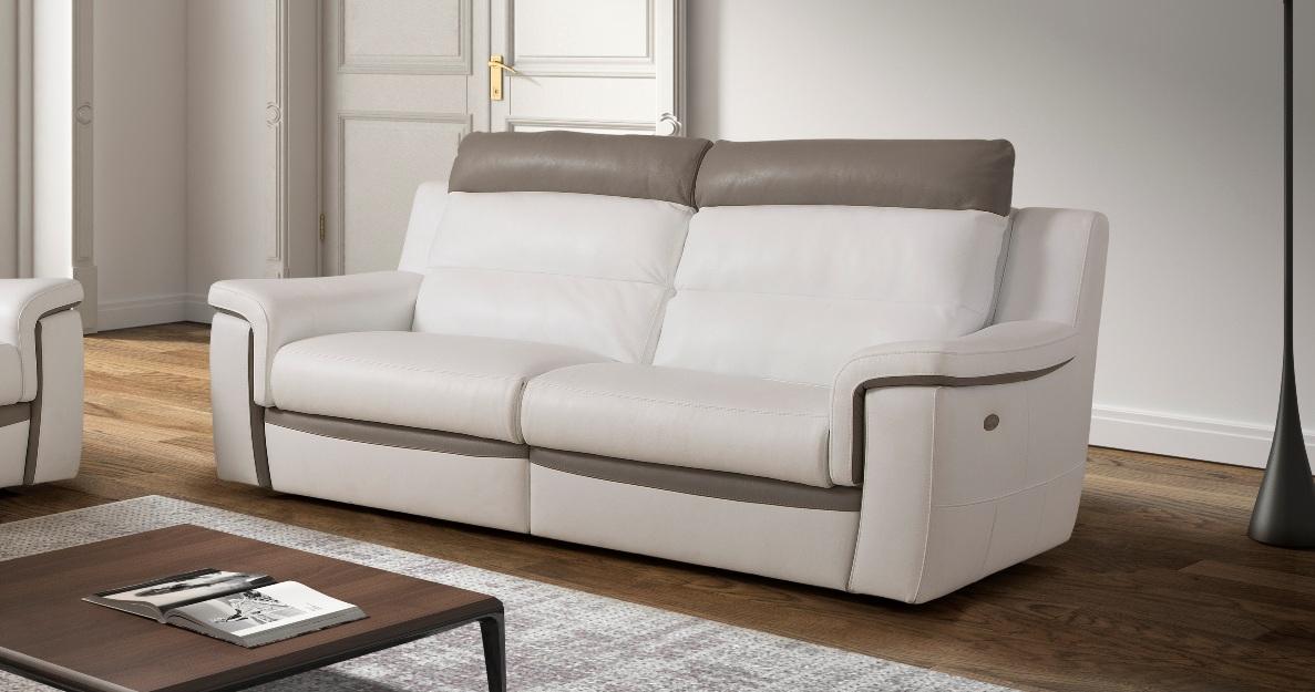 Canapé Convertible Electrique Ricardo Relaxation électrique Ou Fixe Relaxation Grand