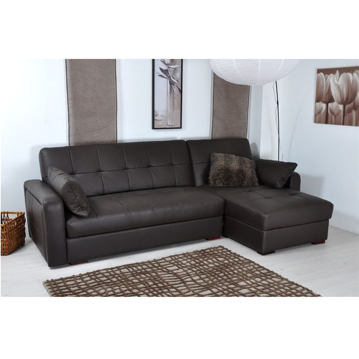 Canapé Convertible En Cuir Concept