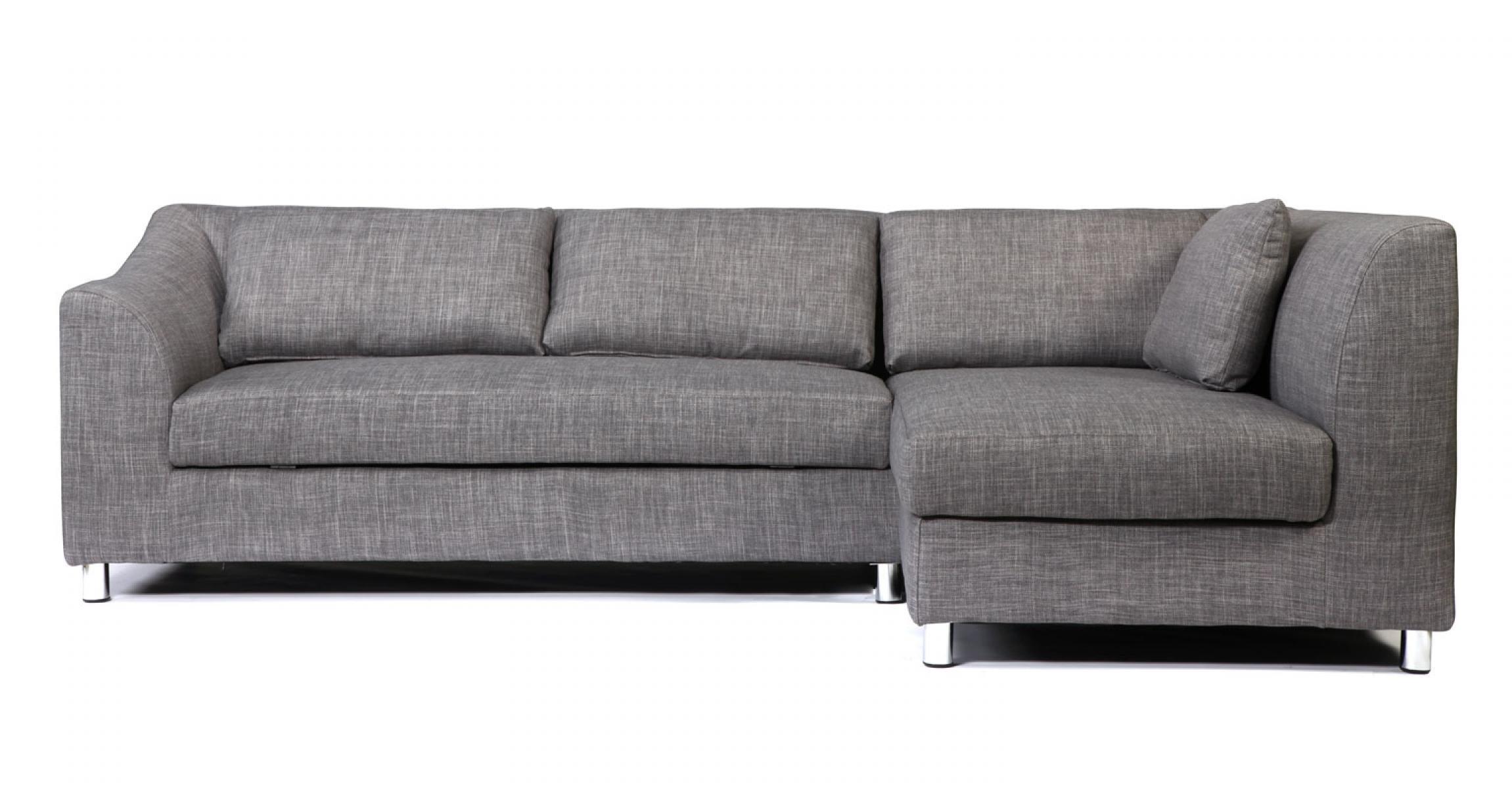 s canapé gris clair convertible