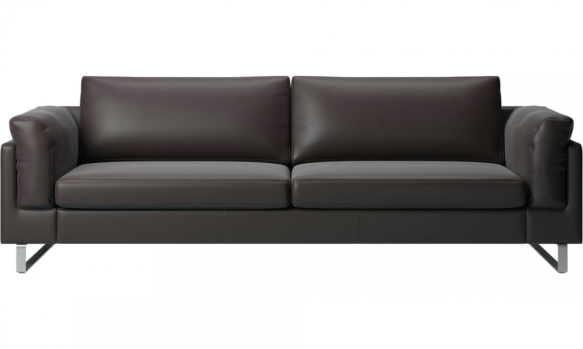 Canape Chesterfield Convertible Cuir Marron