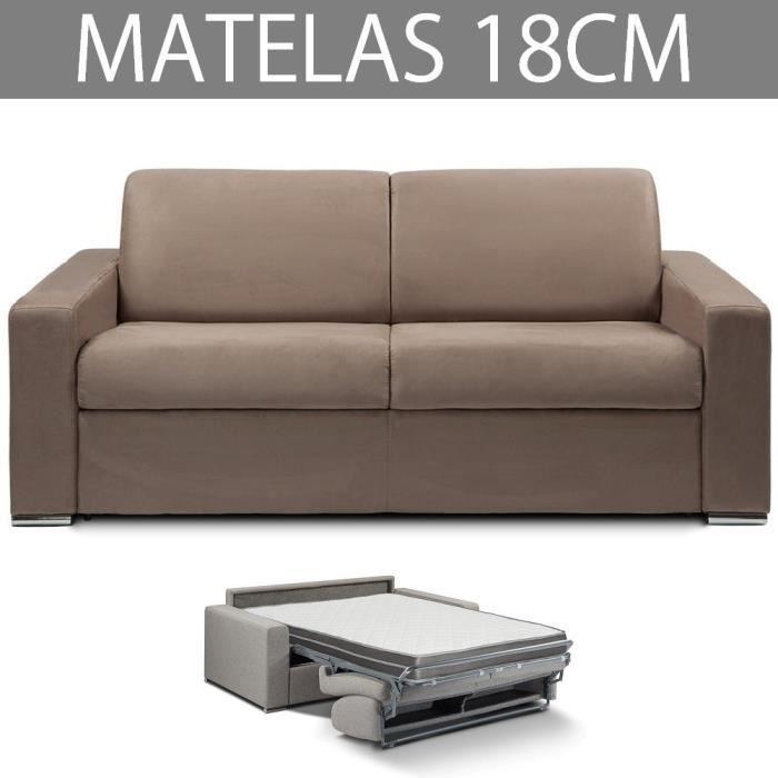 Canapé lit 3 places MASTER convertible RAPIDO 140 cm