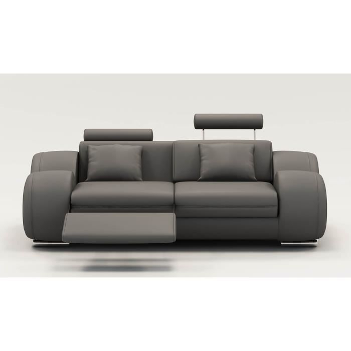 Canape 2 place relax Achat Vente Canape 2 place relax