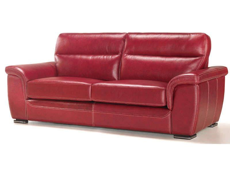 Conforama canapé fixe 3 places rosini giovanni coloris