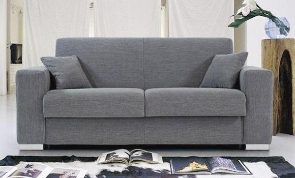 Canapé lit design 3 places plutone convertible rapido 140