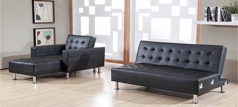 Canapé convertible noir et blanc conforama Décoration d