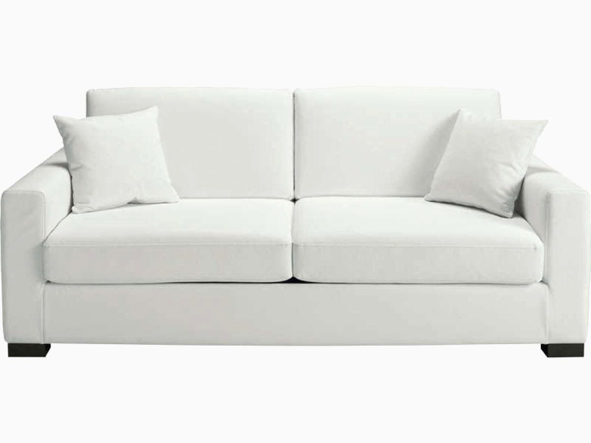 Canapé Cuir Blanc Conforama à Canap Blanc Convertible