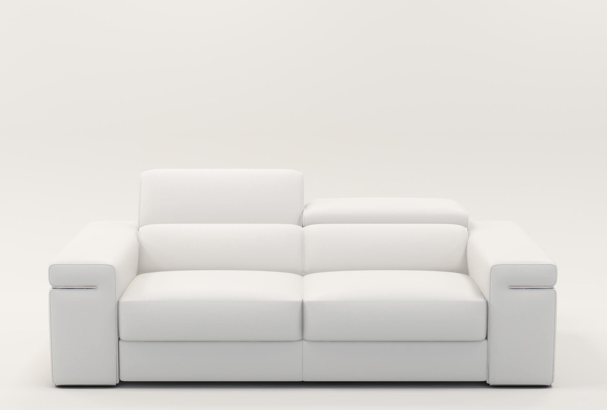 Canapé Cuir Blanc Concept