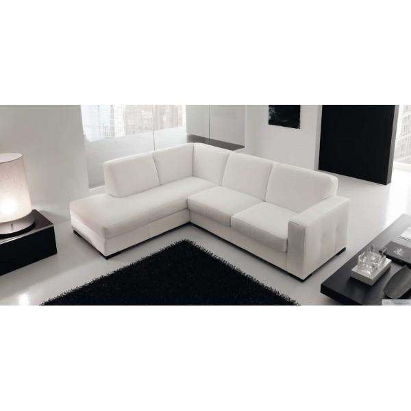 Canapé d angle en cuir design LYON et canapés cuir 2