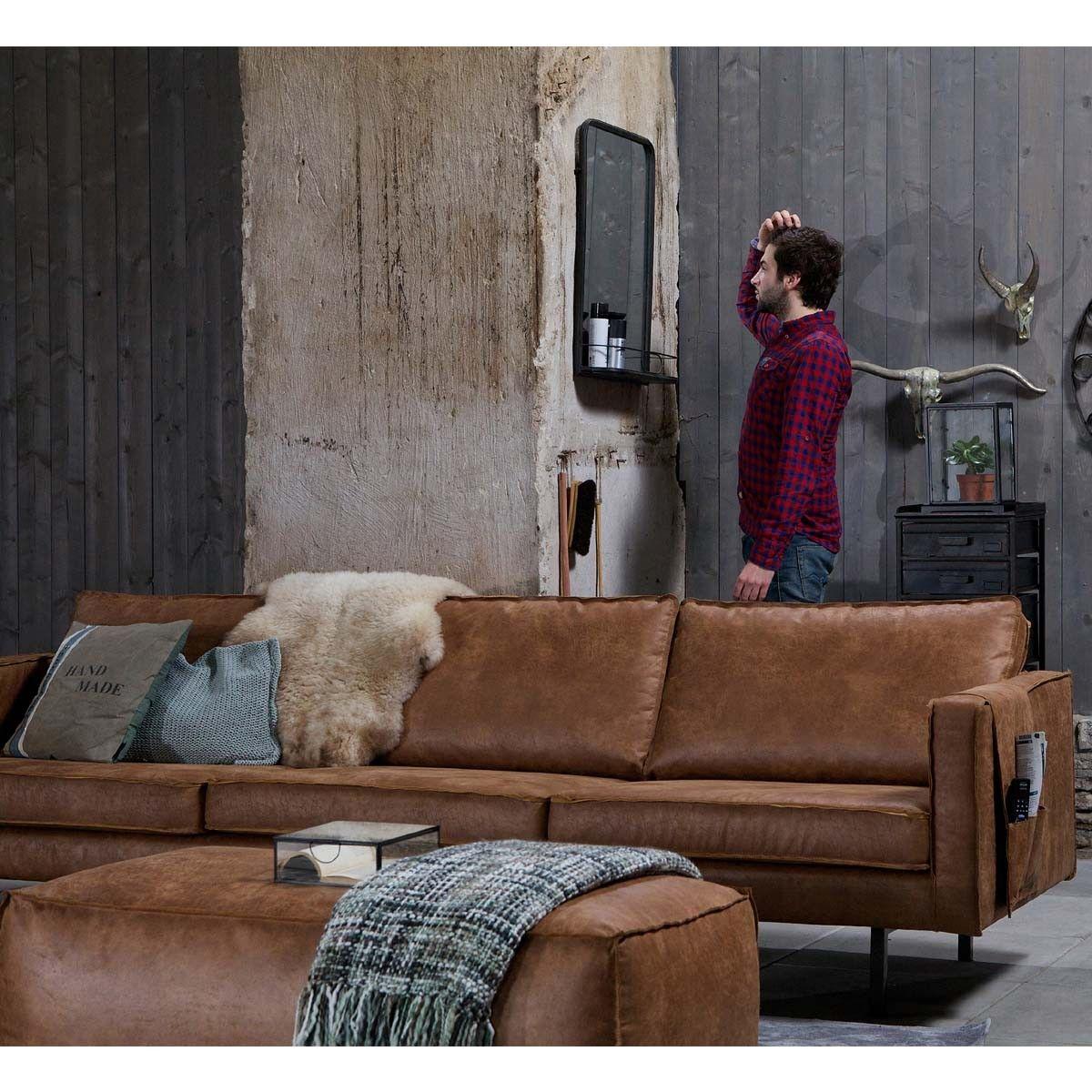 Grand canapé 4 places vintage BePureHome BRONCO