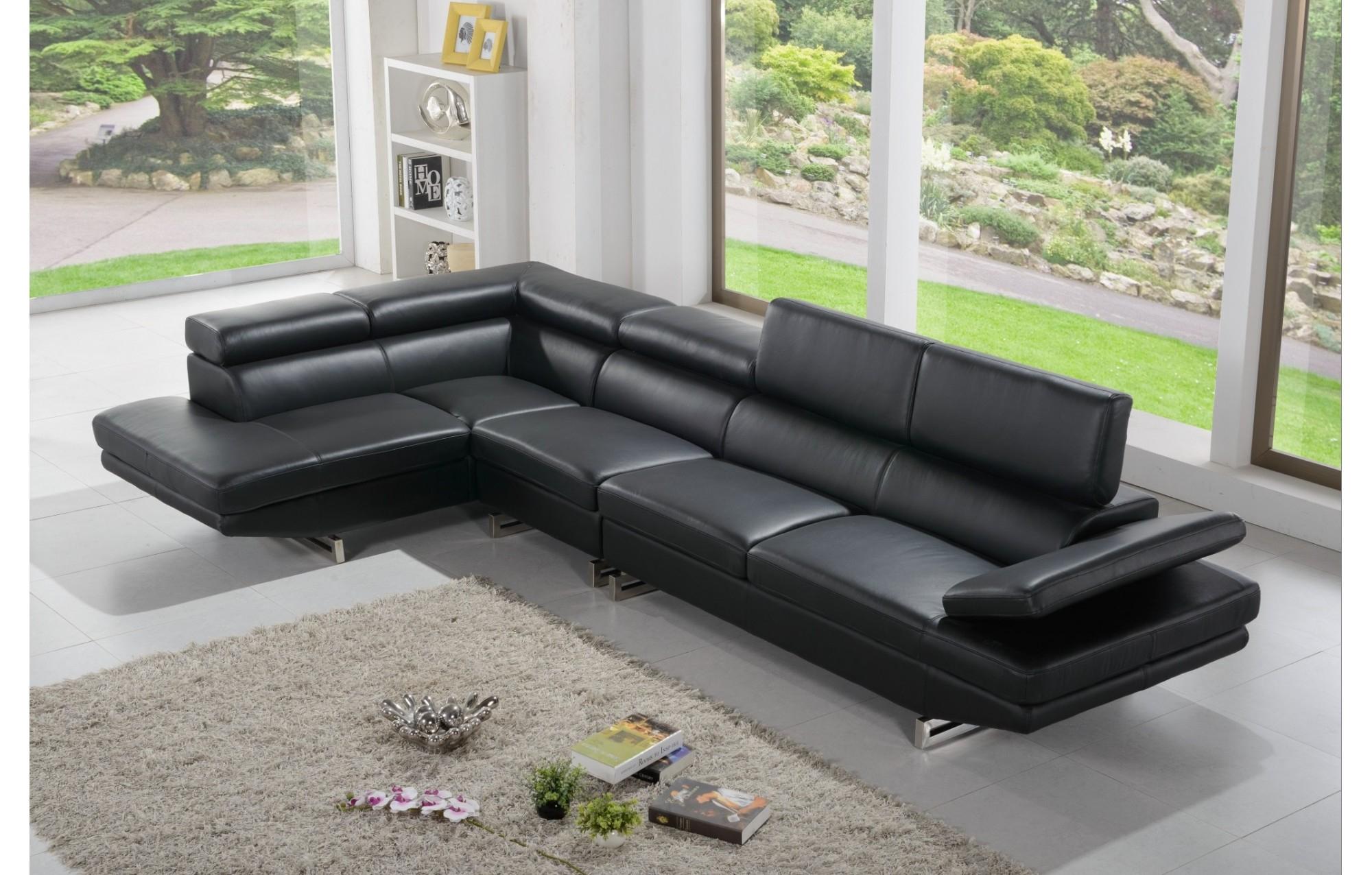 Canape Cuir Contemporain Concept - Idees Conception Jardin
