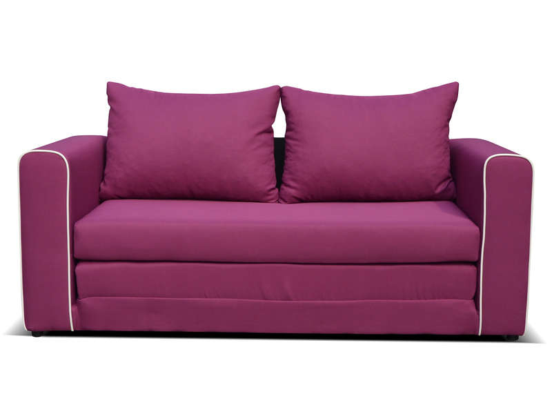 Canapé Cuir Convertible Conforama Canapé Fixe Convertible 2 Places En Tissu Laura Coloris