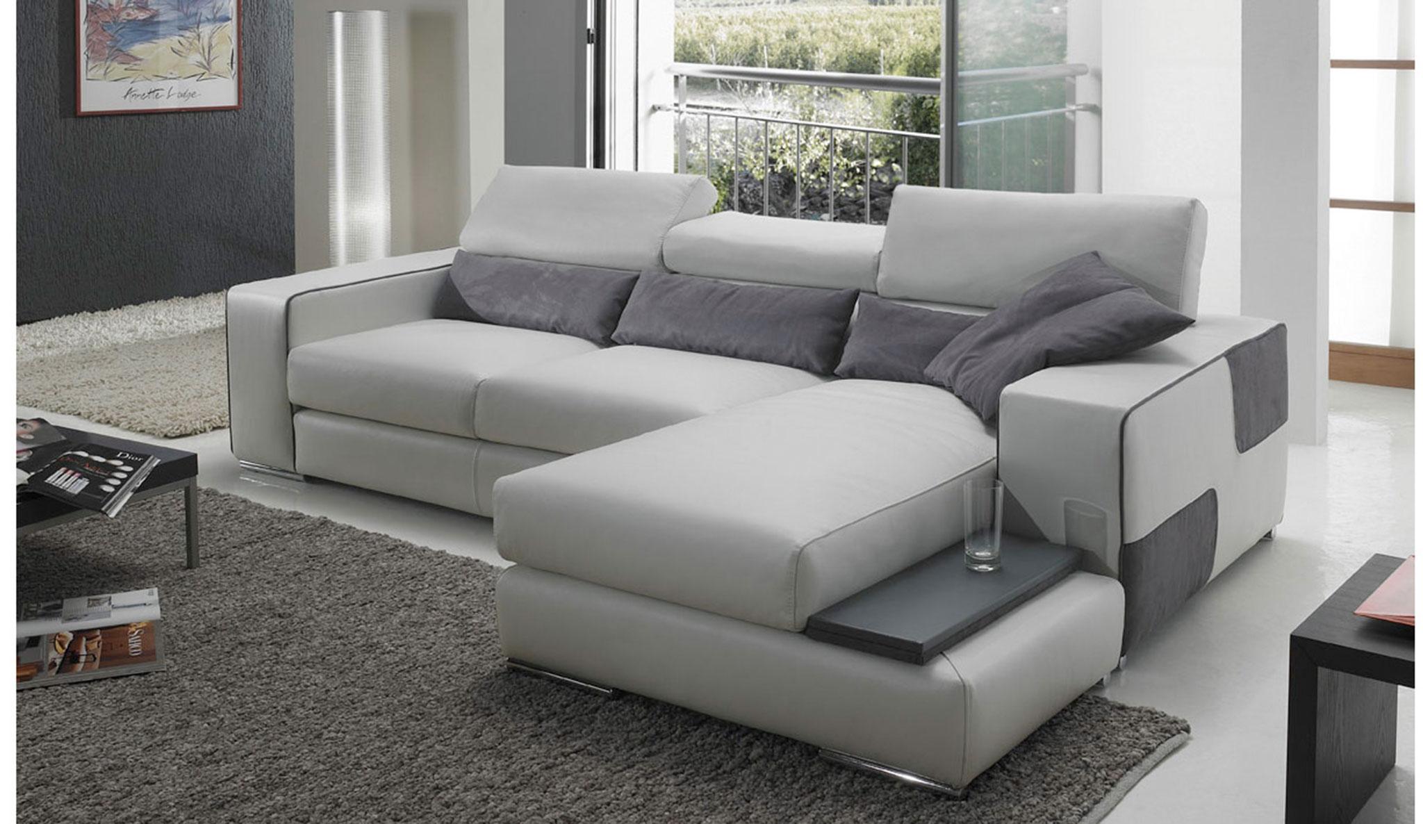 Canape d angle cuir design pas cher Lareduc