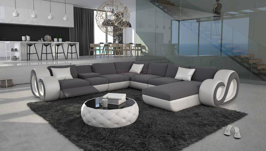 Grand canapé d angle en U led NESTA XL 2 499 00