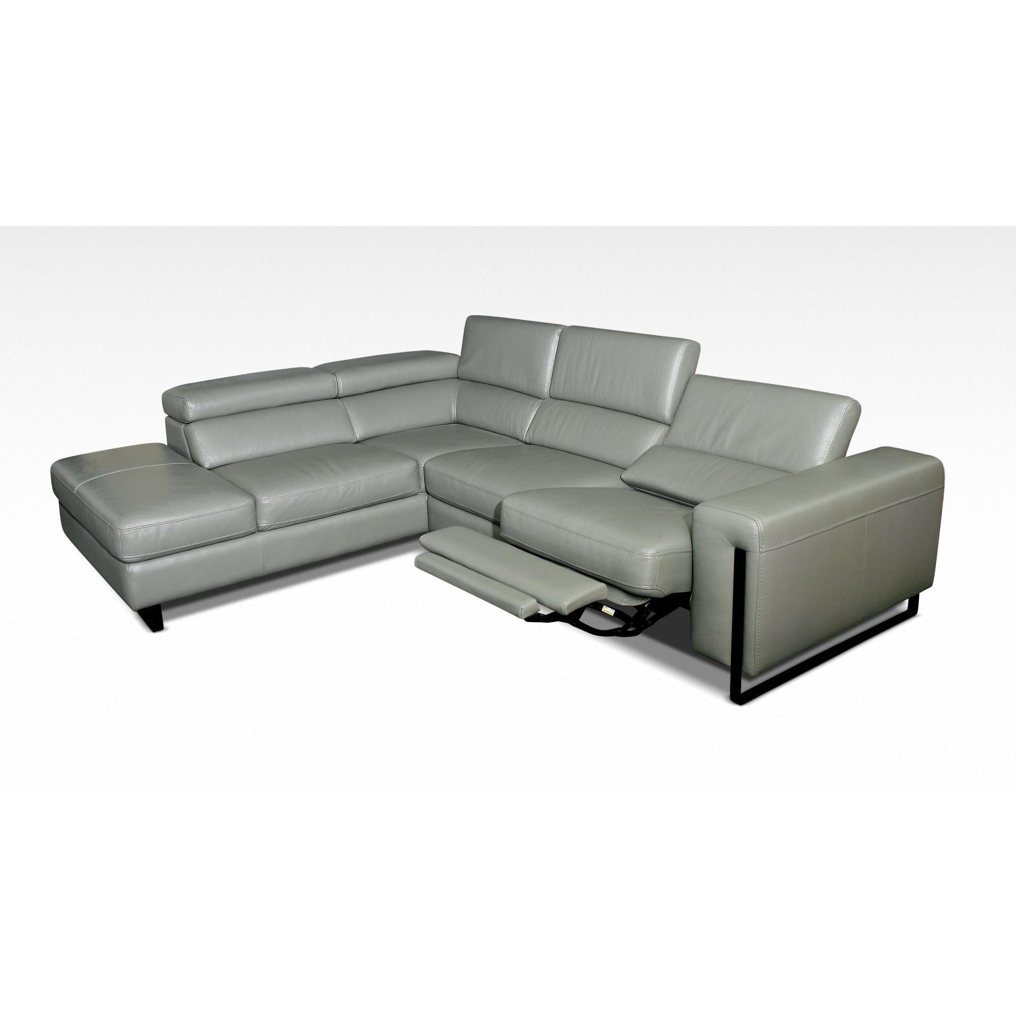 Canapé d angle relax design avec méri nne gauche en cuir