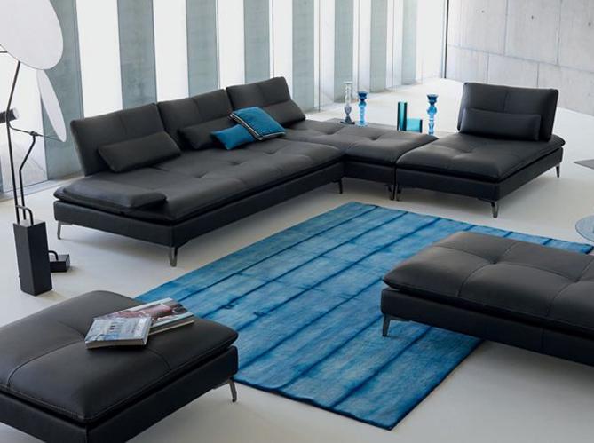 Malin le canapé modulable Elle Décoration