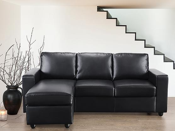 Sofa en cuir Canapé modulable BELIANI