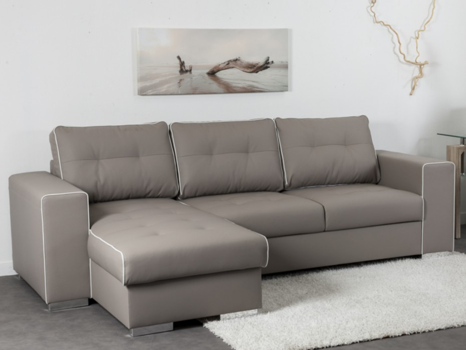 Canape Cuir Taupe Canape Taupe