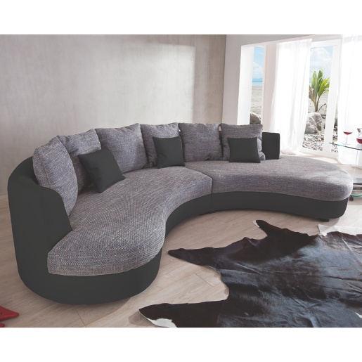 canapé d angle arrondi