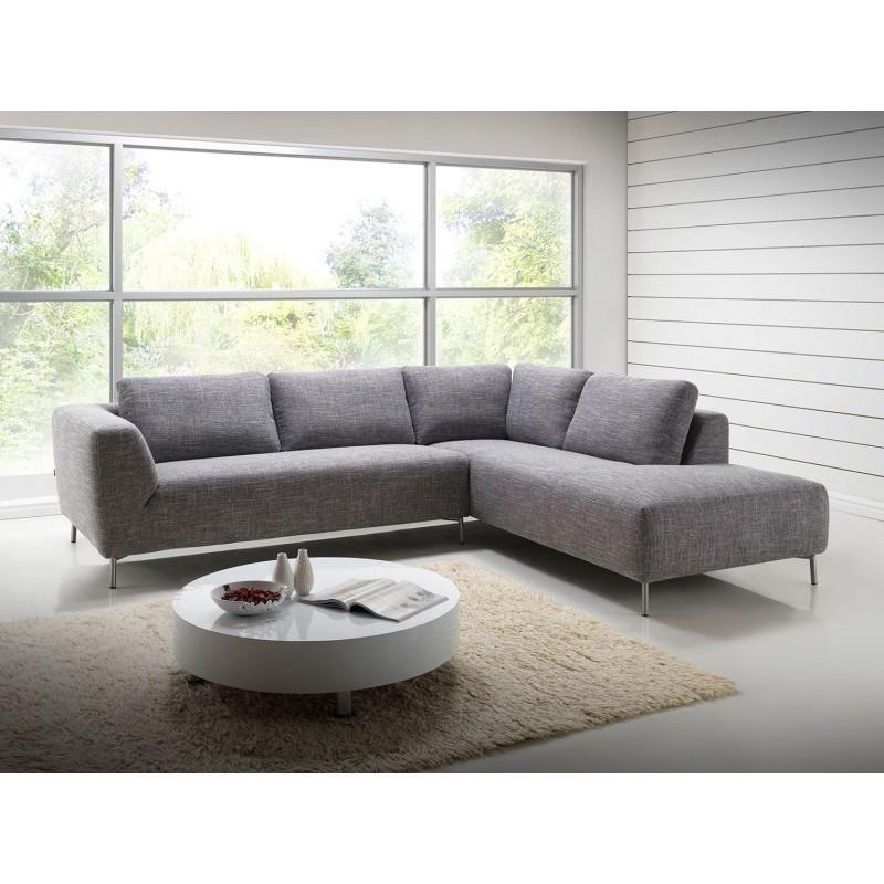 Canapé d angle côté Droit design 5 places méri nne