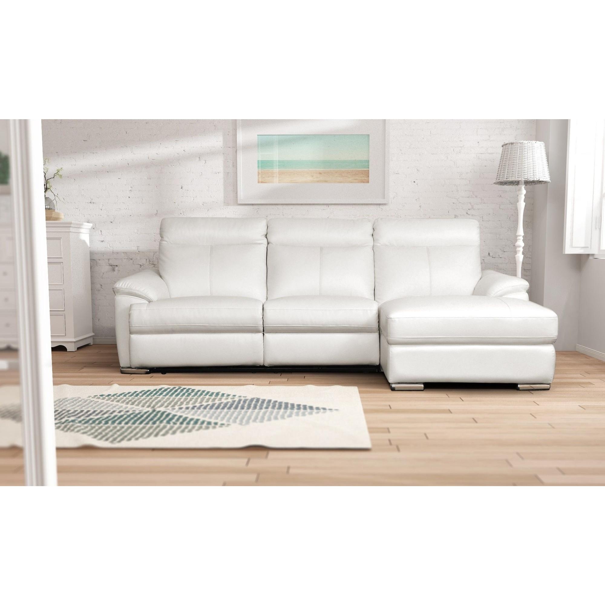 Canapé d angle design avec relax électriques et méri nne
