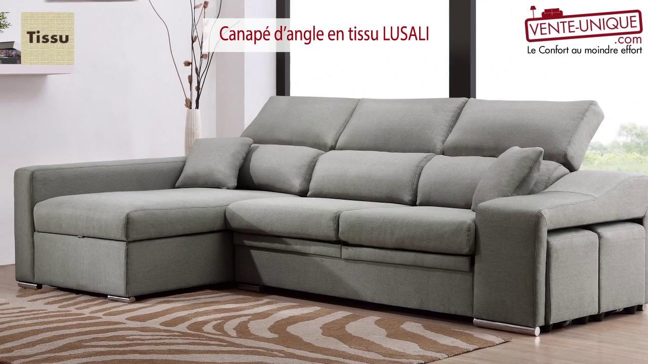 canapé d angle confortable