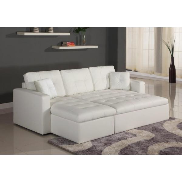 Canapé D Angle Cuir Convertible Canapé D Angle Lit Convertible Girly Blanc En Simili Cuir