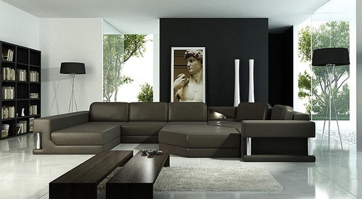 s canapé d angle cuir design italien