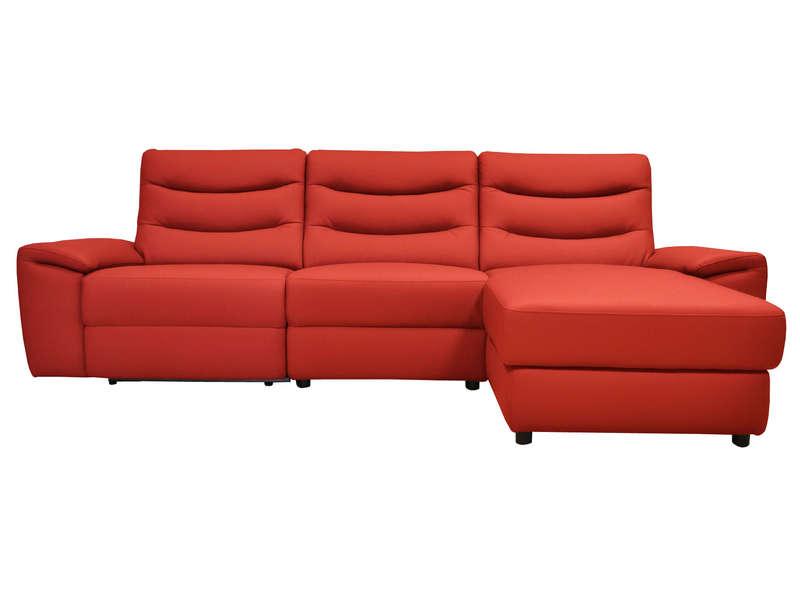 Canapé d angle relaxation électrique 4 places FOSTER