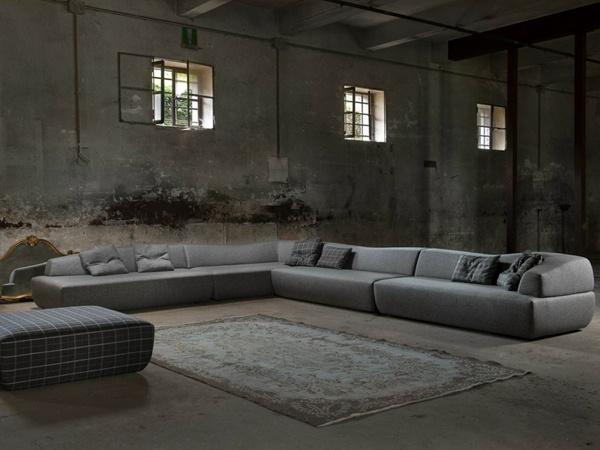 Le canapé d angle prend la place centrale dans votre salon