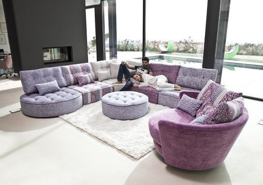 Acheter votre canapé d angle modulable original coloré et
