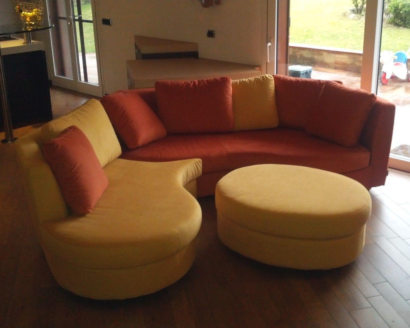 Canapé d angle arrondi Ravel ARREDACLICK