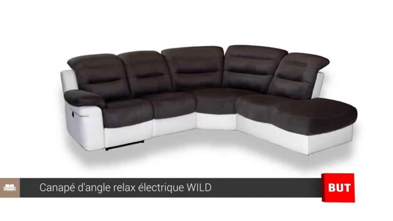 Canapé d angle relax électrique WILD BUT