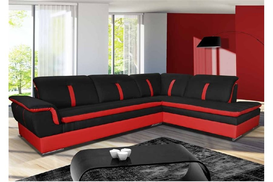 Canapé d angle Marion tissu chloe design