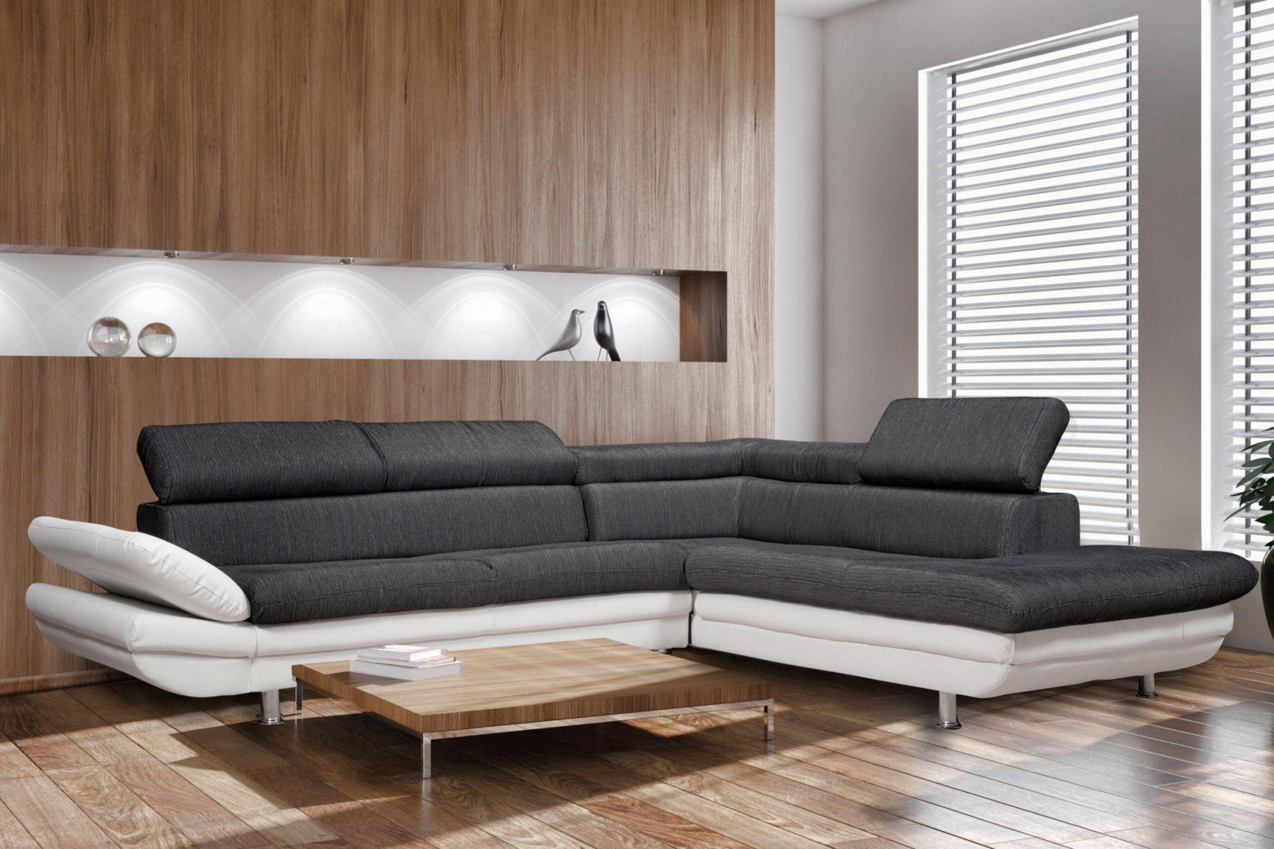 S Canapé D Angle Cuir Design Pas Cher Meri nne Cuir