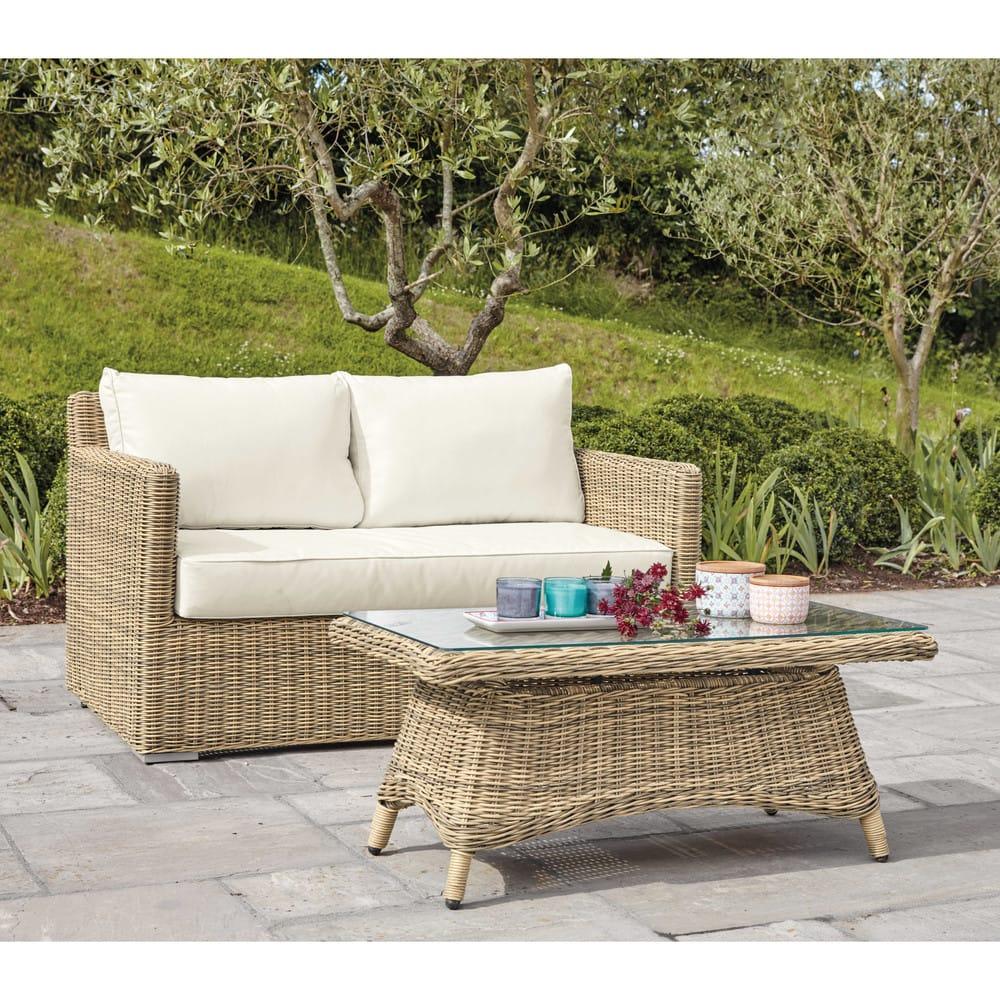 Canape De Jardin Resine Concept