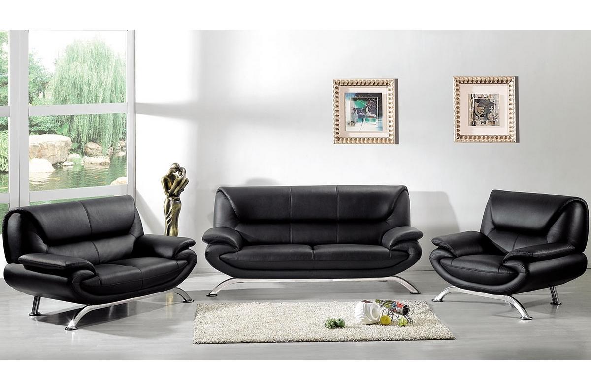 Salon Cuir Buffle Italien canapé de luxe canapé 3 places 2 places fauteuil en cuir