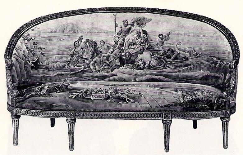 Canape Ancien Style Louis Xvi