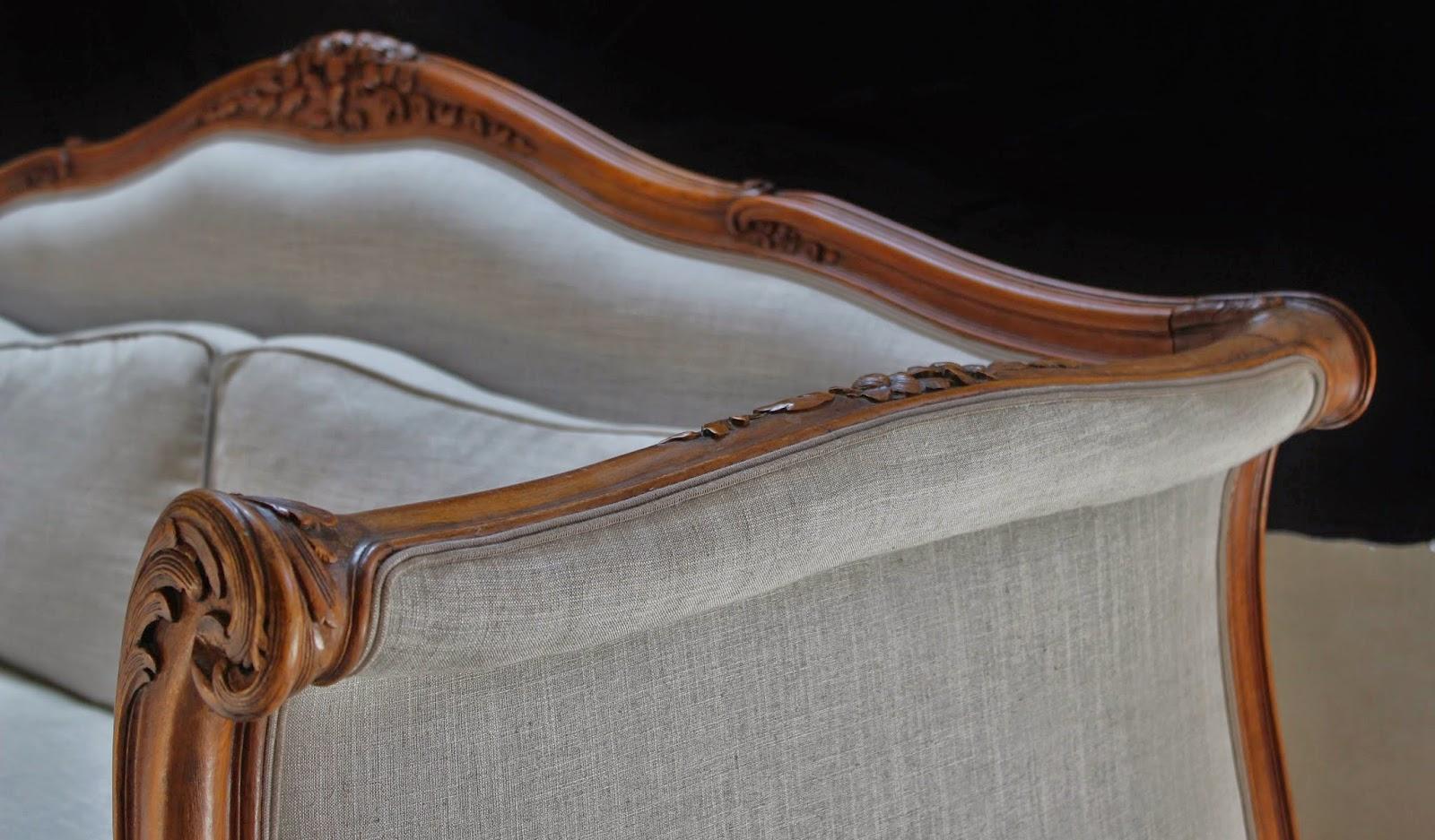 L atelier de Marjorie Alais Canapé de style Louis XV